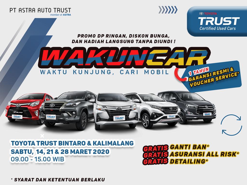 Toyota Trust Event Promosi